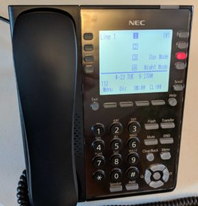 NEC SL2100 SIP Phone Setup - On The Wire Communications LLC